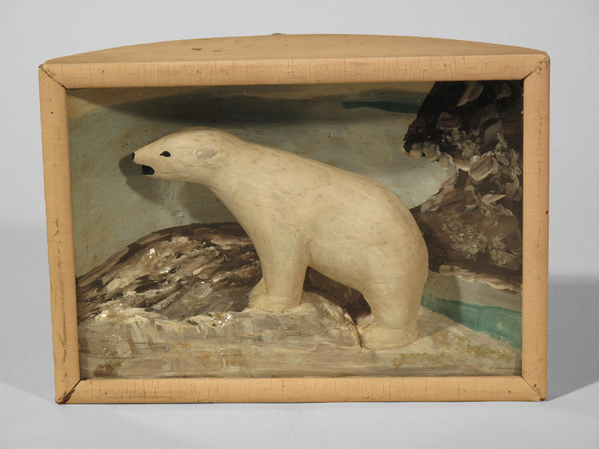 Polar Bear Diorama